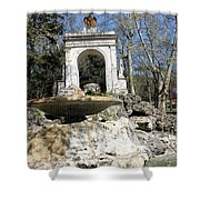 Villa Borghese River Shower Curtain