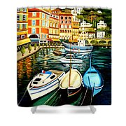 Villa Franche Shower Curtain