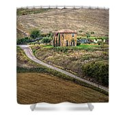 Villa In Tuscany, Italy Shower Curtain