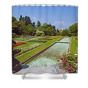 Villa Taranto Gardens,lake Maggiore,italy Shower Curtain