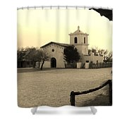 Village Chapel Shower Curtain
