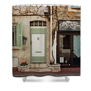 French Village Doors Shower Curtain