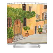 Village In Tuscany N. 4 - Shower Curtain