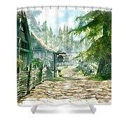 Village Shower Curtain