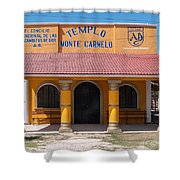 Village Of Coba Shower Curtain