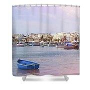 Village Of Fishermen Shower Curtain