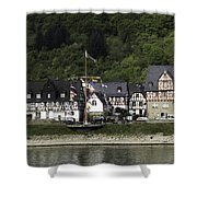 Village Of Spay 11 Shower Curtain