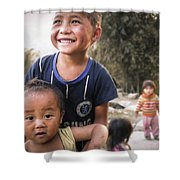 Village Play Shower Curtain