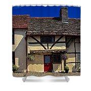 Village Tudors Shower Curtain