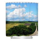 Village View Shower Curtain