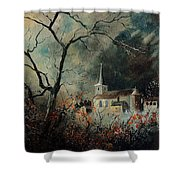 Village Vivy Shower Curtain