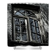 Village Window Shower Curtain