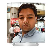 Vinay Kumar Shower Curtain