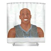 Vince Carter Shower Curtain