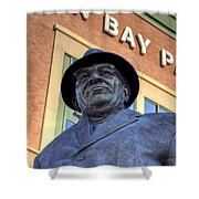 Vince Lombardi Shower Curtain