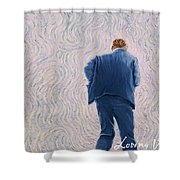 Vincent Coming Into The Light Shower Curtain