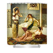 Vincent Stiepevich In The Harem Shower Curtain