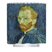 Vincent Van Gogh Self-portrait 1889 Shower Curtain