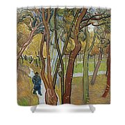 Vincent Van Gogh, The Garden Of Saint Paul's Hospital Shower Curtain