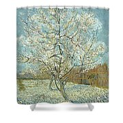 Vincent Van Gogh, The Pink Peach Tree Shower Curtain