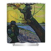 Vincent Van Gogh, The Sower Shower Curtain