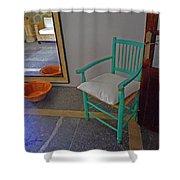 Vincent's Chair Shower Curtain