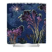 Vincent's Reef Shower Curtain
