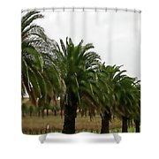 Vinescape Shower Curtain