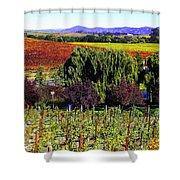 Vineyard 5 Shower Curtain