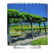Vineyard Shower Curtain