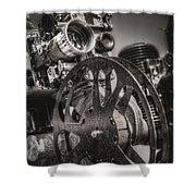 Vintage 16mm Shower Curtain