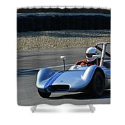 Vintage 1958 Elva Mk5 Shower Curtain