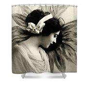 Vintage Beauty Shower Curtain