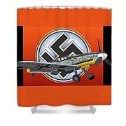 Vintage Bf 109 Shower Curtain