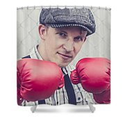 Vintage Boxers Shower Curtain