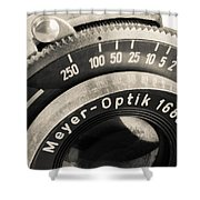 Vintage Camera -1 Shower Curtain