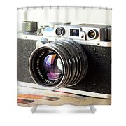 Vintage Camera C10a Shower Curtain