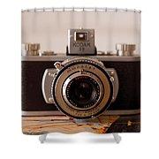Vintage Camera C10i Shower Curtain