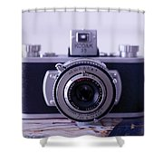 Vintage Camera C10k Shower Curtain