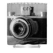 Vintage Camera C10p Shower Curtain