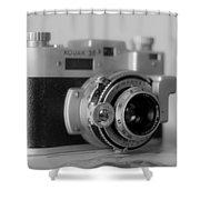 Vintage Camera C20f Shower Curtain