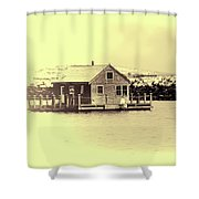 Vintage Cape Cod Shower Curtain