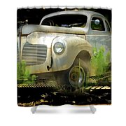 Vintage Car 29 Shower Curtain