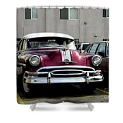 Vintage Car From 1940's Era Shower Curtain