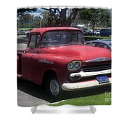 Vintage Chevrolet Apache 32 Pickup Shower Curtain