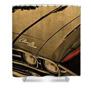 Vintage Chevrolet Chevelle Hood Shower Curtain