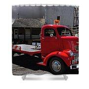 Vintage Chevrolet Truck Shower Curtain