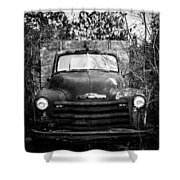 Vintage Chevy Farm Truck Shower Curtain