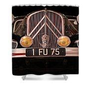 Vintage Citroen 2 Shower Curtain