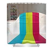 Vintage Citroen Shower Curtain